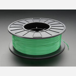 PLA Filament for 3D Printers - 1.75mm Diameter - Green - 1KG Australia