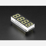 Adafruit 4-Digit 7-Segment LED Matrix Display FeatherWing - White Australia