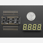Adafruit 0.56 4-Digit 7-Segment Display w/ FeatherWing - White Australia