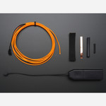 EL wire starter pack - Orange 2.5 meter (8.2 ft) Australia