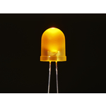 Diffused Yellow 10mm LED (25 pack) Australia