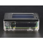 Pi Model B+ / Pi 2 / Pi 3 - Case Base and Faceplate Pack - Clear [for 2.8 PiTFT] Australia