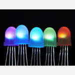 NeoPixel Diffused 8mm Through-Hole LED - 5 Pack Australia