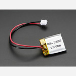 Lithium Ion Polymer Battery - 3.7v 150mAh Australia