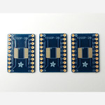 Adafruit SMT breakout PCB for SOIC or TSSOP - various sizes - 20 pin - pack of three Australia