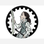 Ada Lovelace - Sticker! Australia