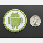Android - Skill badge, iron-on patch Australia