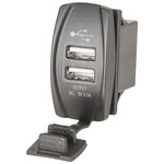 Twin USB Panel Mount Outlet 5V 3.1A Australia