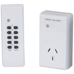 Remote Controlled Mains Outlet Controller Australia