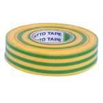PVC Insulation Tape - Yellow/Green - 20m Australia