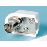 75 OHM RIGHT ANGLE SOLDERLESS TV Plug Australia