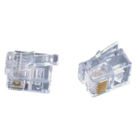 RJ12 Telephone plugs for Stranded Cable - Pk.5 Australia