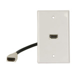 HDMI 1.4 Wall Plates with Flylead Australia