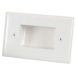 Recessed Cable Entry Wall Plate - Small Australia