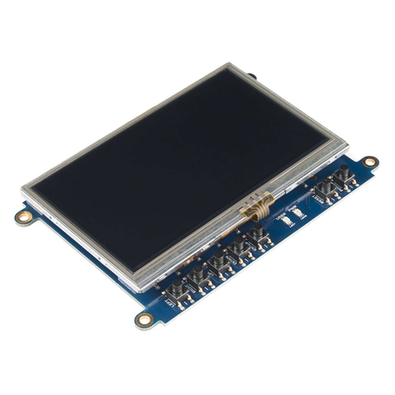 Beaglebone Black Cape - LCD (4 3