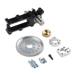 Channel Mount Gearbox Kit - 360° Rotation (3:1 Ratio) Australia