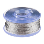 Conductive Thread Bobbin - 12m (Smooth, Stainless Steel) Australia