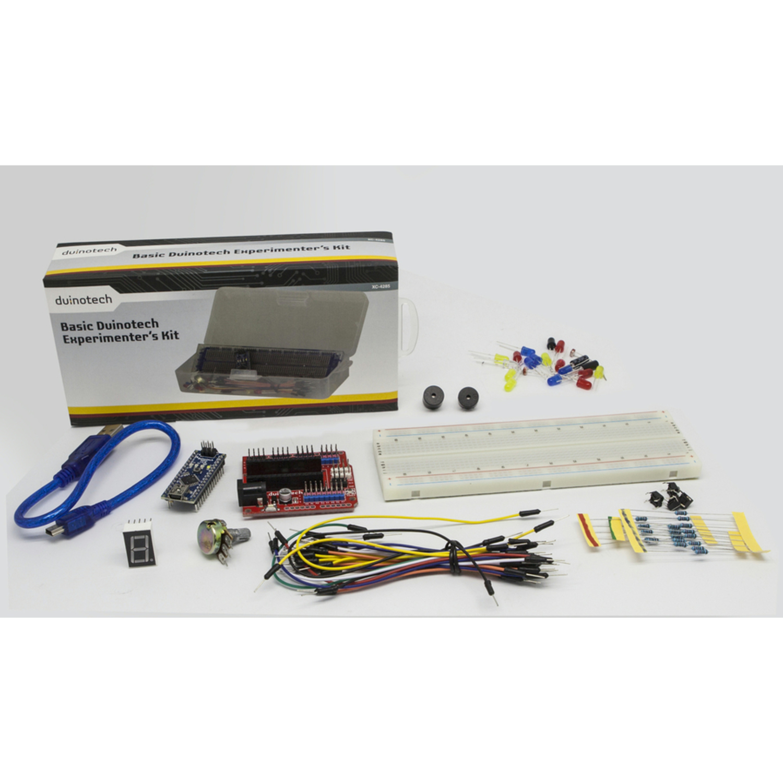 Basic experimenter kit for arduino australia little bird