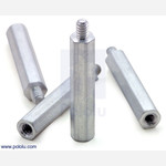 "Aluminum Standoff: 1"" Length, 4-40 Thread, M-F (4-Pack) Australia"
