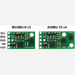 MinIMU-9 v3 Gyro, Accelerometer, and Compass (L3GD20H and LSM303D Carrier) Australia