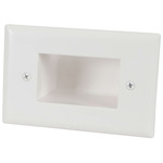 Recessed Cable Entry Wall Plate - Large Australia