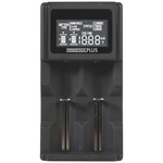 Universal Dual Channel Li-ion and Ni-MH Battery Charger with LCD Backlit display Australia
