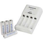 Panasonic Ni-MH Battery Charger with 4 Eneloop Batteries Australia