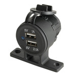 Twin USB Panel or Surface Mount Outlet 5V 3.1A Australia