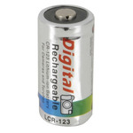 Rechargeable 3V Lithium Ion CR123A Battery Australia