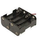 8 X AA 2 ROWS OF 4 SQUARE Battery Holder Australia