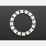NeoPixel Ring - 16 x 5050 RGB LED with Integrated Drivers Australia
