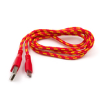 USB Patterned Fabric Cable - A/MicroB 1m Australia