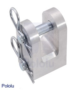 Mounting Clevis for Glideforce Industrial-Duty Linear Actuators - Aluminum